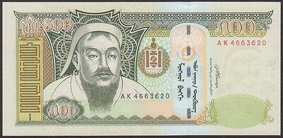 MONGOLIA   500 TUGRIK  2007  P 66b  Uncirculated Banknotes   Prefix AL
