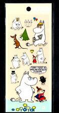 Moomin Stickers Sticker Sheets lot Kawaii Look Rare Little My Snorkmaiden C