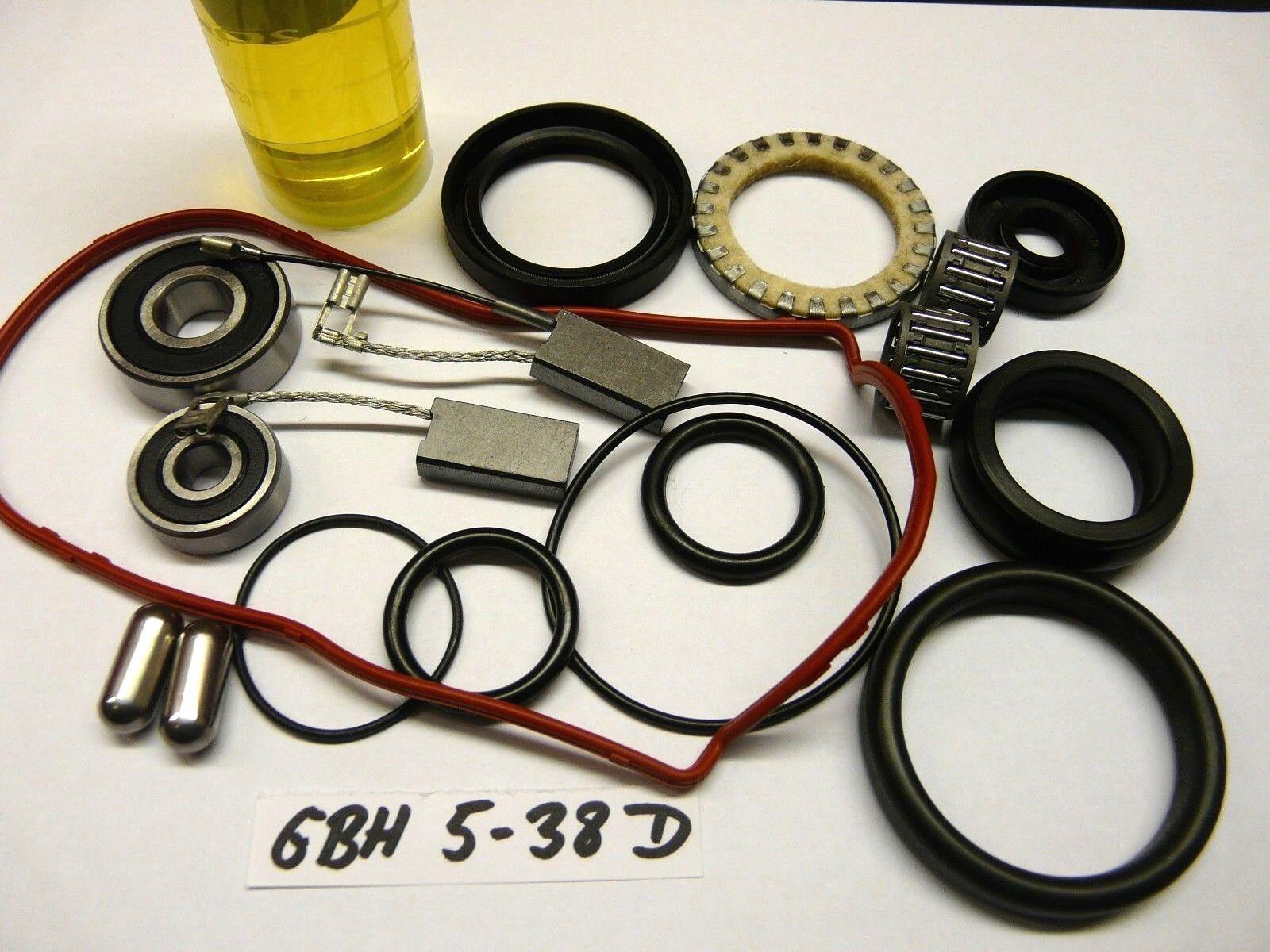 Bosch GBH 5-38 D , Reparatursatz, Verschleissteilesatz, Wartungset