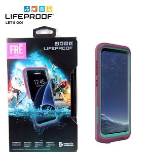 release date: 51be1 a34e5 Details about LifeProof FRE Case Waterproof For Samsung Galaxy S8+ S8 Plus  Edge Pink Brand NEW