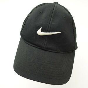Ganar Encommium Tristemente  Nike Golf VRS Black Flex Fit Fitted Adult Baseball Ball Cap Hat | eBay