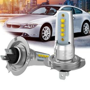 2X-H7-CREE-LED-Headlight-40W-Car-Hi-or-Low-Beam-Bulbs-Conversion-Accessories-Kit
