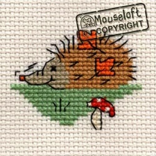Mouseloft Mini Cross Stitch Kits In The Woods Collection **BUY 3-15/% OFF!!*