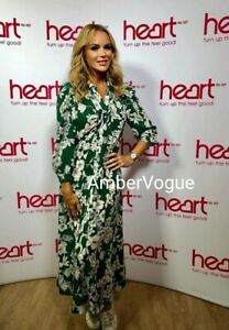 Zara-New-F-W-2020-Green-Print-Long-Shirt-Dress-Size-L