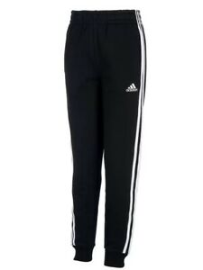 0e3d0866 Details about ADIDAS Iconic Tricut Jogger Pants Youth Size M (10-12) Black  *NWT*