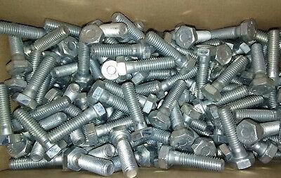 Teilgewinde verz Schraube M8x30 8.8 DIN 931 Sechskant-Schrauben 8x30 Stahl gal