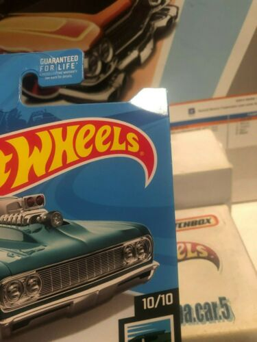 2019 HOT WHEELS /'64 CHEVY CHEVELLE SS ☆ SPEED BLUR #62//250 New