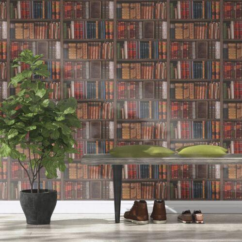 Bibliothèque Livres PAPIER PEINT-RASCH 934809-Bibliothèque nouveau