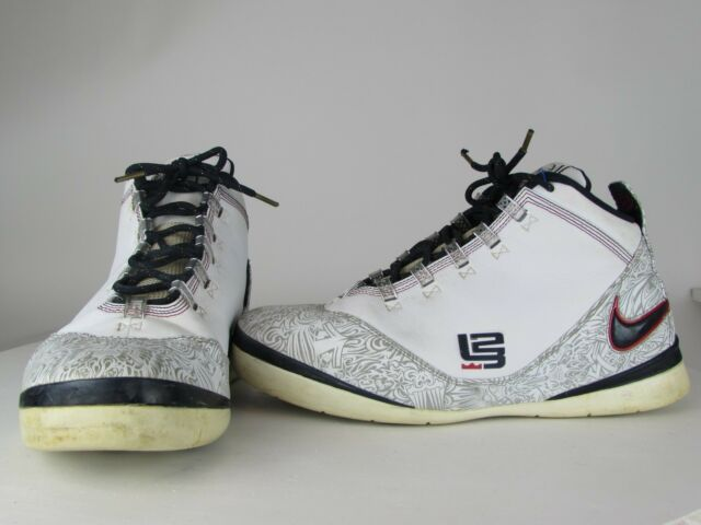 premium selection 88fe1 7ca04 08 Nike Zoom SOLDIER II 2 LEBRON JAMES OLYMPIC UNITED WE RISE 334098-141  Size 11