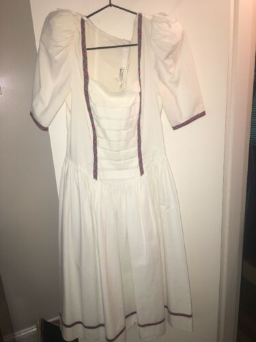 Vintage Gunne Sax Jessica McClintock Dress 1970s G