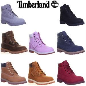 Details zu Timberland Junior 6 Inch Premium Waterproof Stiefel GroBe UK 3 6.5 EU 35 40
