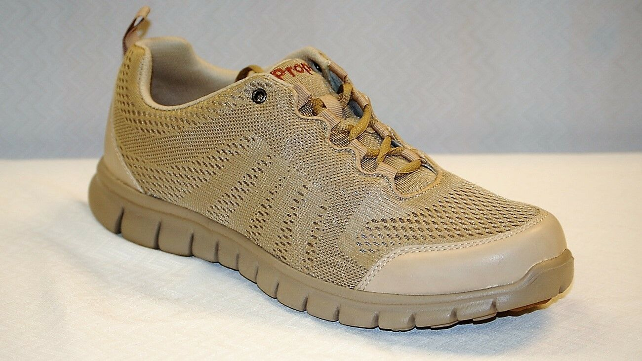 Propet M3232 McLean Mesh Sand Men's Casual Light Weight shoes size 9.5 Medium