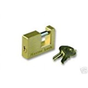 Master-Lock-605DAT-Trailer-Coupler-Lock-3-4-034-1-4-034-H-X-1-2-034-W-Solid-Brass