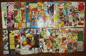 HUGE-X-Men-Lot-MARVEL-Wolverine-Unlimited-X-Force-Uncanny-2099-New-Excalibur