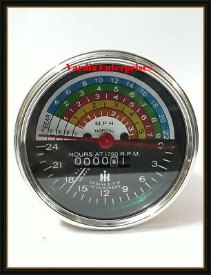 Farmall IH tractor tachometer 300 /& 350 Tractor Hour meter