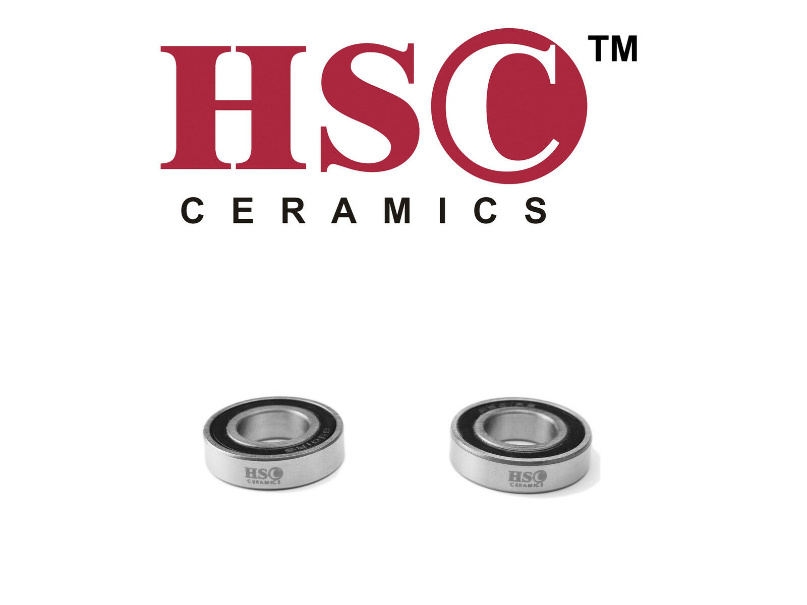 DT Swiss 240s 100mm radial front hub ceramic bearing (2x6803) - HSC Ceramics