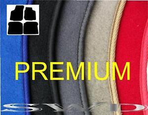 NEW-BEETLE-vw-tailored-mats-c-w-fixings-PREMIUM-BLACK-QUALITY-thick-carpet-4pc