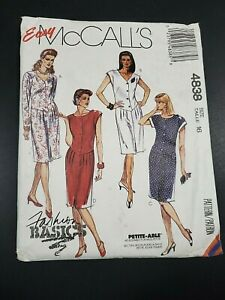 CUT Vintage McCall/'s 5492 Sewing Pattern