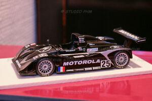 Lola T98/10 N°25 Dams Motorola 24h Du Mans 1999 Spark 1:43 Boite Métal Origine