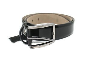 Cinta-cintura-uomo-NERO-vera-pelle-cuoio-elegante-cerimonia-made-in-Italy-belt-b