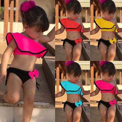 Summer Toddler Kids Baby Girls Bikini Set Swimsuit Swimwear Beach Swimming Suit