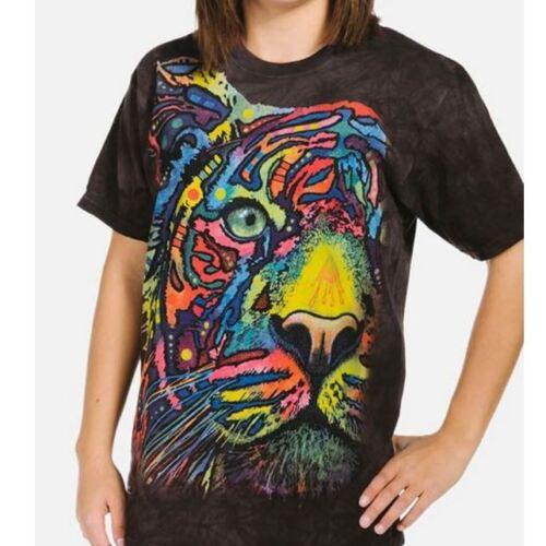 Arcobaleno Riserva A antracite Stupenda Maglietta; T Tigre shirt Tintura 1xdpqv4