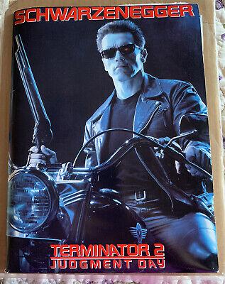 Terminator 2 Judgment Day 1991 Movie Studio Press Kit 16 Photos Great Condition Ebay