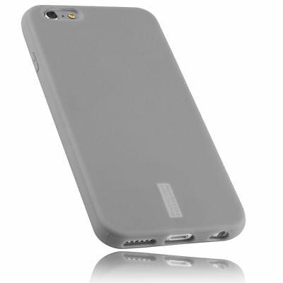 mumbi Hülle für Apple iPhone 6s 6 Schutzhülle grau Case Tasche Cover Handyhülle