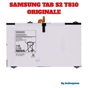 GL BATTERIA ORIGINALE SAMSUNG 100% PER GALAXY TAB S2 9.7 SM-T810 RICAMBI 5870Mah
