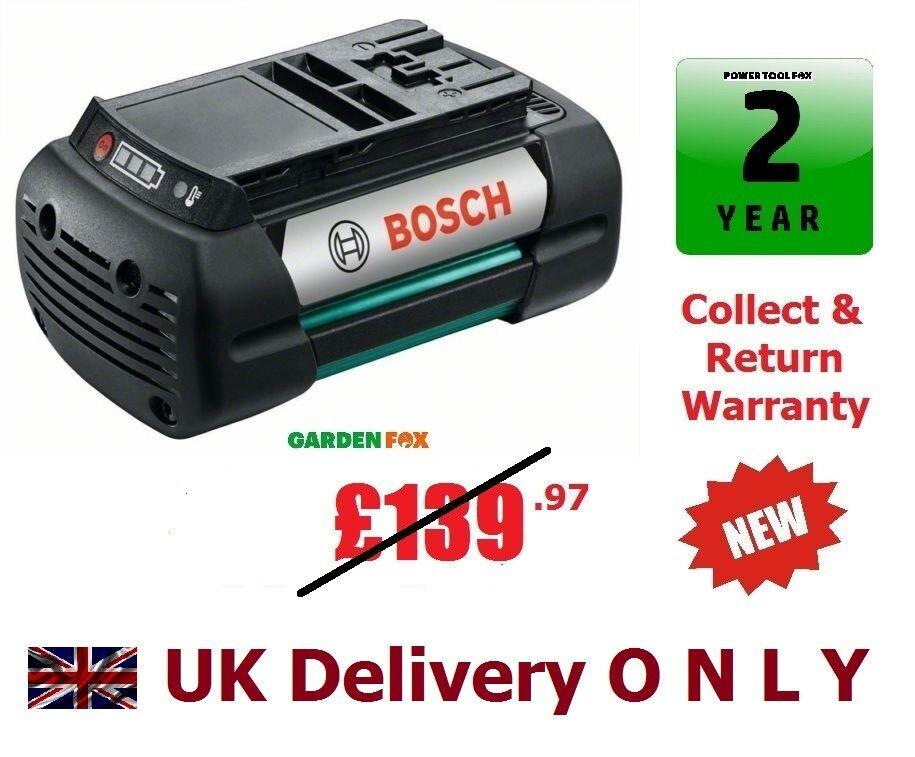 Savers Bosch Rotak 37-Li 4.0ah 36V Li-ION BATTERY F016800346 3165140742085