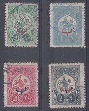 Turkey - Scott 142-145 Used (Catalog Value $65.80)