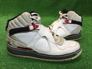 056ac31b3a781d Nike Air Jordan VIII Fusion 8 White Black Red Shoes  384522-101 Size ...