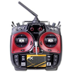 atFoliX-3x-Film-Protection-d-039-ecran-pour-Graupner-MZ-24-PRO-mat-amp-antichoc