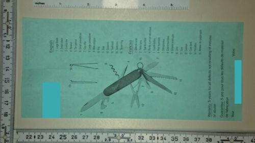 9 Funktionen weiße Griffschalen ADLER-Messer Taschenmesser mit Schere #352
