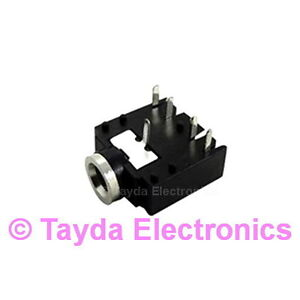 3-x-3-5mm-Stereo-Enclosed-Socket-Chassis-Jack-FREE-SHIPPING