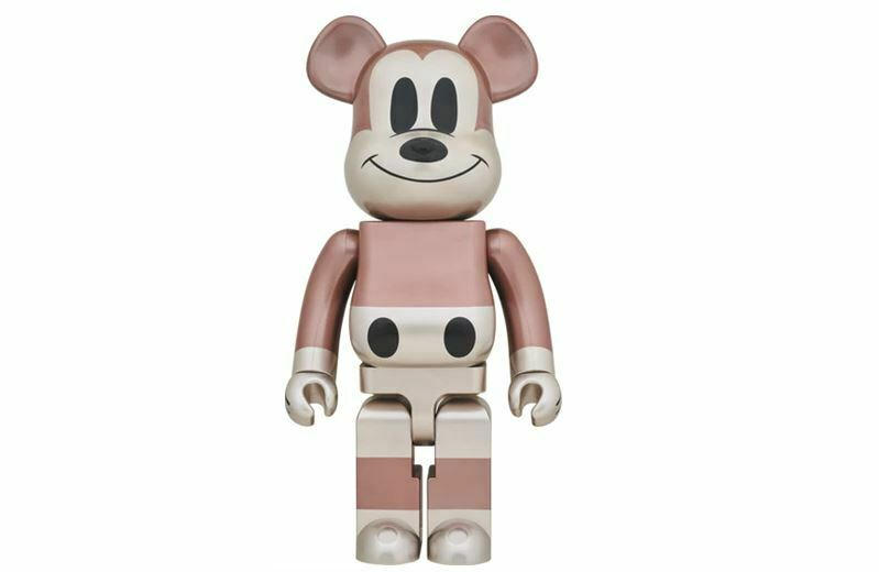 Bearbrick X Undefeated Mickey Mouse