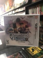 Professor Layton vs. Phoenix Wright: Ace Attorney (Nintendo 3DS, 2014)