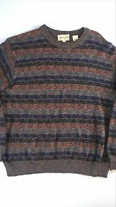 Pronto-Uomo-Firenze-Sweater-Mens-SZ-M-XL-Wool-Blend-SOFT-Made-in-Italy-Pullover