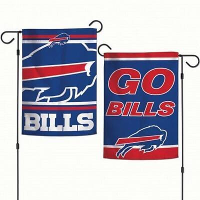 """Buffalo Bills Garden Flag House Banner Courtyard Flag Yard Banner 12x18/"""""""