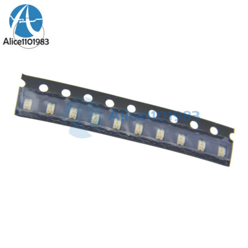 500PCS SMD SMT 0805 Super Bright White LED lamp light