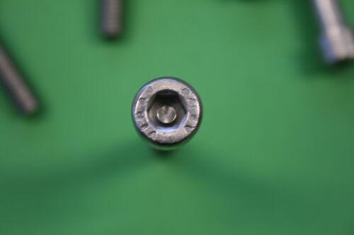 Edelstahl DIN 912 10 x Zylinderschraube,Gewindeschraube M6x60