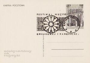 Poland postmark KAMIEN - music festival organ and chamber 68 - Bystra Slaska, Polska - Poland postmark KAMIEN - music festival organ and chamber 68 - Bystra Slaska, Polska
