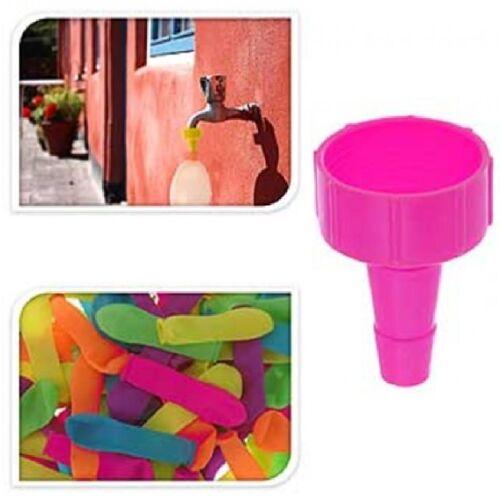 150 eau bombes différentes couleurs de l/'eau-bombes eau ballons incl fülltülle