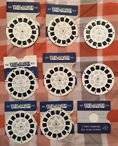 Viewmaster-per-bambini-scivolo-Mulinelli-TOPOLINO-TARZAN-TOM-amp-JERRY-Donald-Duck