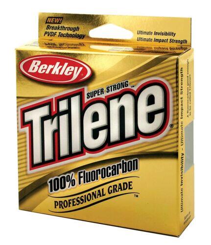Nouveau Trilene 100/% Fluorocarbone Ligne De Pêche 100 M /& 182 M bobines d/'Affranchissement Gratuit