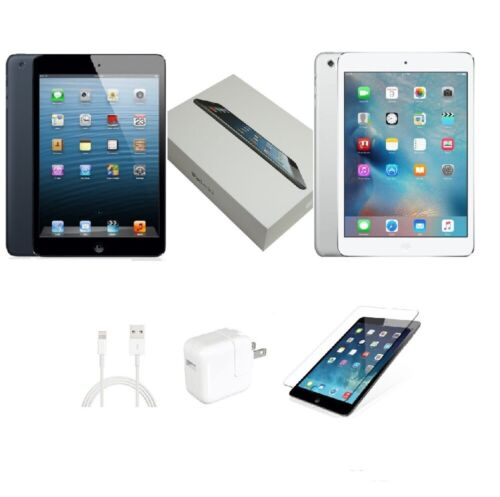 Apple iPad Mini 16//32//64GBWi-Fi OnlyBlack/&Slate//White/&SilverOpen Box!!