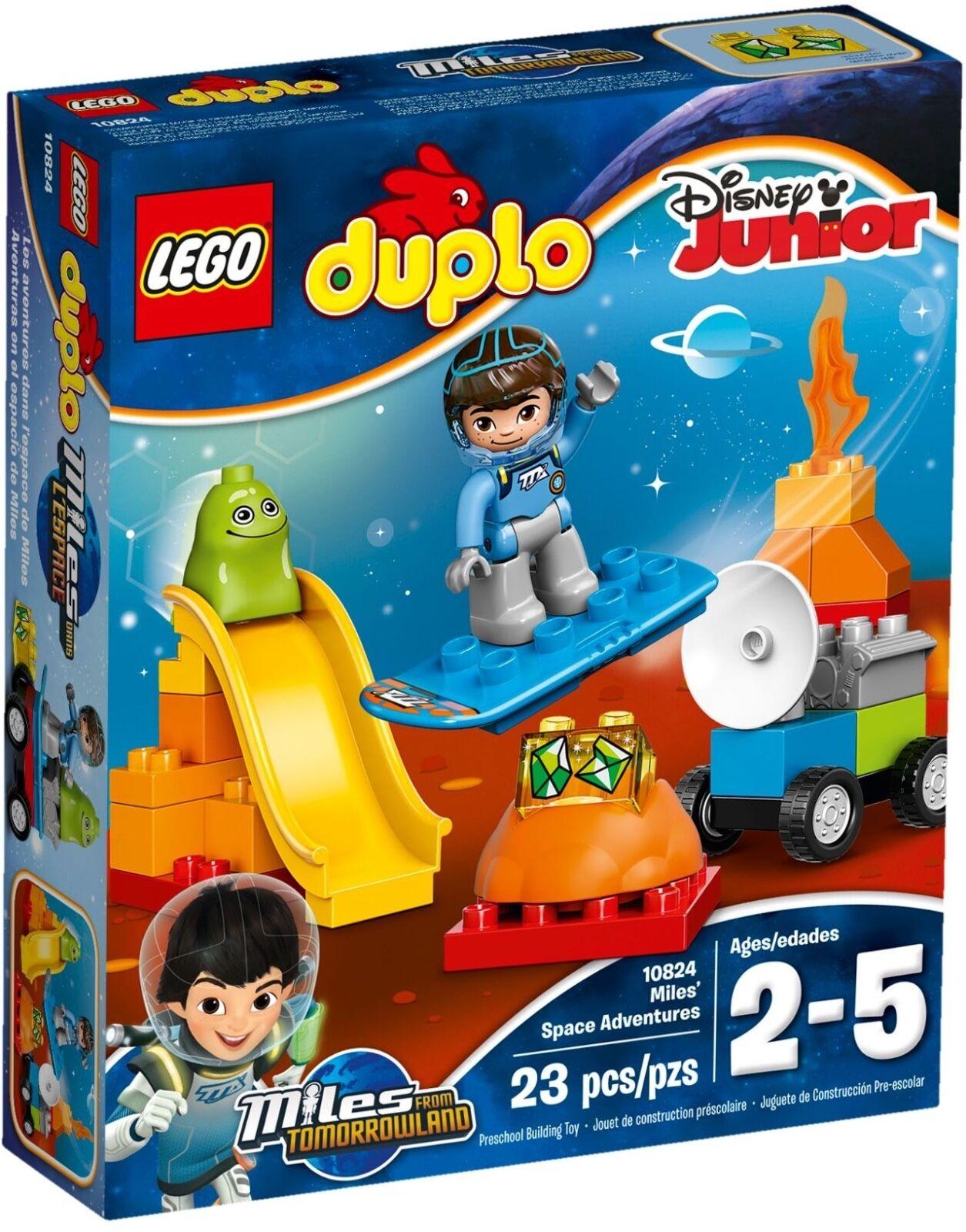 LEGO ® DUPLO ® 10824 Mi spatiale Aventure Nouveau neuf dans sa boîte _ Miles 'Space Adventures NEW