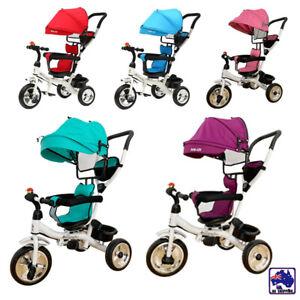 Baby-Kids-Reverse-Toddler-Tricycle-Bike-Trike-Ride-On-Toy-Stroller-Prams-GMC0010