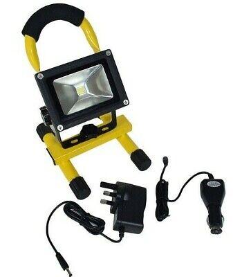 Rotatif rechargeable 3 W COB DEL Travail Inspection Torche Lampe lumière Spotlight LR27