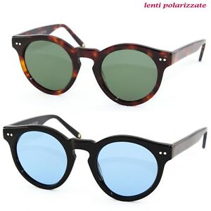 Occhiali-Sole-Uomo-donna-SUN-LOVERS-8050-grandient-stile-moscot-polarizzati